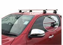 Поперечины рейлингов крыши для Toyota Hilux Revo (2015-2017)