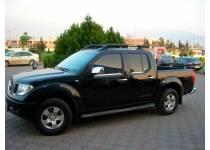 Рейлинги продольные BLACK PORT для Nissan Navara D40 (2005-)