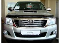 Дефлектор капота для Toyota Hilux (2006-2014)