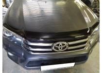 Дефлектор капота для Toyota Hilux Revo (2015-2016)