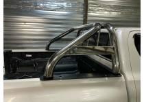 Дуга кузова двойная с защитой стекла для Toyota Hilux (2006-2021)