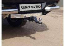 Фаркоп TCC (без бампера) для Fiat Fullback (2016-)
