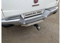 Фаркоп TCC (с бампером) для Fiat Fullback (2016-)
