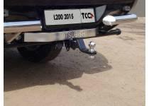 Фаркоп TCC (без бампера) для Mitsubishi L200 (2015-)