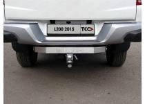 Фаркоп TCC (с бампером) для Mitsubishi L200 (2015-)