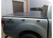Крышка алюминиевая трехсекционная Ruggedliner для Ford Ranger T6 (2012-)