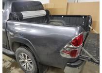 Крышка алюминиевая роликовая Hard Roll Up для Toyota Hilux Revo (2015-2018)