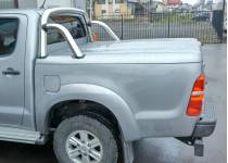 Крышка кузова Top Up с дугой безопасности (в грунте) для Toyota Hilux (2006-2014)