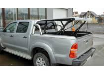 Крышка кузова Top Up Euro Star с дугой безопасности (в грунте) для Toyota Hilux (2006-2014)