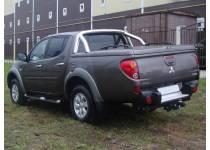 Крышка кузова Top Up с дугой безопасности (в грунте) для Mitsubishi L200 long 2014