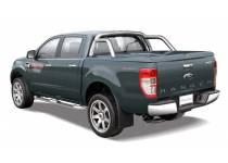 Крышка кузова Top Up с дугой безопасности (в грунте) для Ford Ranger T6 (2012-)