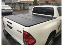 Крышка алюминиевая трехсекционная Winbo для Toyota Hilux Revo (2015-2018)