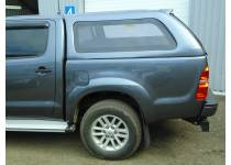 Кунг стандарт (боковые глухие стекла, в грунте) для Toyota Hilux (2006-2014)