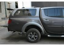 Кунг максимум (боковые раздвижные стекла, в грунте) для Mitsubishi L200 long 2014