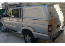Кунг коммерческий (без стекол, в грунте) для UAZ Pickup