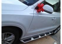 Боковые пороги OEM STYLE для Audi Q3 (2011-)
