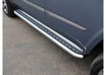 Пороги с площадкой 60,3 мм для Cadillac Escalade (2015-)