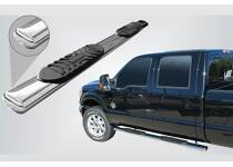 Боковые пороги трубы овал d127 для Ford Ranger T6 (2012-)