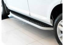 Боковые пороги OEM STYLE для Land Rover Freelander 2 (2007-)