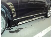 Боковые пороги BMW-STYLE для Infiniti FX35/50 (2009-2012)