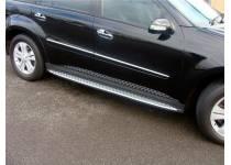 Боковые пороги OEM STYLE для Mercedes-Benz GL 164 (2006-2012)