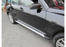 Боковые пороги OEM STYLE для Mercedes-Benz GLK (2008-)