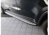 Боковые пороги OEM STYLE для Jeep Grand Cherokee (2014-)