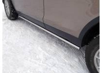 Пороги труба 42,4 мм для Land Rover Discovery Sport (2015-)
