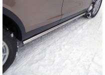 Пороги труба 60,3 мм для Land Rover Discovery Sport (2015-)