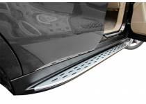 Боковые пороги OEM STYLE для Mercedes-Benz М (2012-)