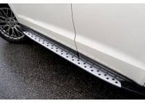 Боковые пороги BMW Style для Mazda CX-5 (2011-2014)