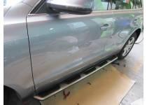 Боковые пороги OEM STYLE для Audi Q5 (2008-)