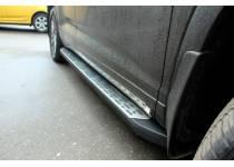 Боковые пороги OEM STYLE для Toyota Highlander (2014-)
