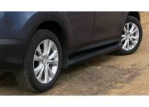Боковые пороги OEM STYLE для Toyota Rav4 (2013-2015)