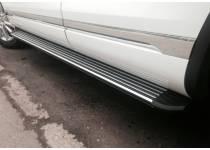 Боковые пороги OEM STYLE для Volkswagen Touareg (2002-2010)