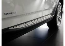 Боковые пороги OEM STYLE для BMW X3 E83 (2004-2010)