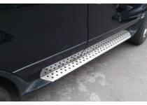 Боковые пороги OEM STYLE для BMW X5 E70 (2007-2013)