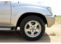 Расширители колесных арок для Toyota Land Cruiser 100 (1997-2008)