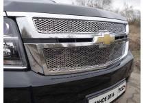 Решетка радиатора нижняя (лист) для Chevrolet Tahoe (2016-)