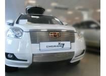 Накладка на решетку бампера d10 для Geely Emgrand X7