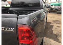 Накладки на боковые борта Toyota Hilux Revo (2015-2021)