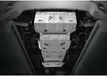 Защита радиатора, картера, КПП, раздатки алюм. 4 мм для Mitsubishi L200 (2015-)