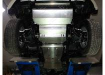 Защита радиатора, картера, КПП, раздатки алюм. 4 мм для Fiat Fullback (2016-)