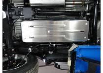 Защита бензобака алюм. 4 мм для Fiat Fullback (2016-)