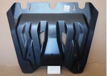 Защита картера двигателя и кпп 6 мм, композит для Nissan X-Trail (2015-)