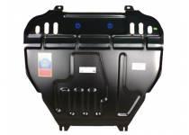 Защита картера двигателя и КПП сталь 2 мм для Peugeot 4008 (2012-)