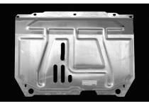 Защита картера двигателя и КПП алюминий 4 мм для Suzuki SX4 (2014-)