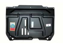 Защита картера двигателя и КПП сталь 3 мм для Suzuki SX4 (2014-)