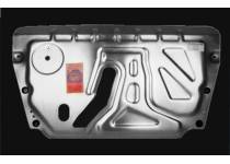 Защита картера двигателя и КПП алюминий 4 мм для Toyota Highlander (2010-2013)