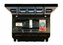Защита радиатора сталь 3 мм для Toyota Hilux (2006-2014)